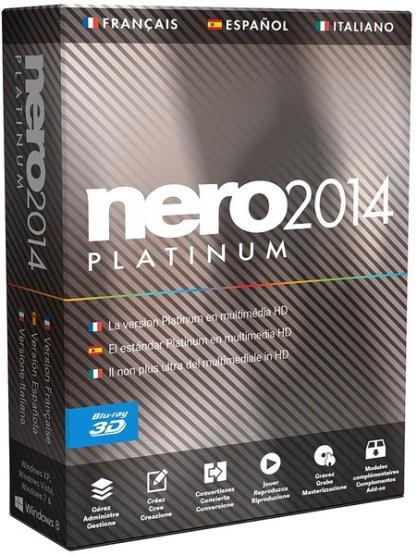 Nero 2014 Platinum +серийный номер скачать