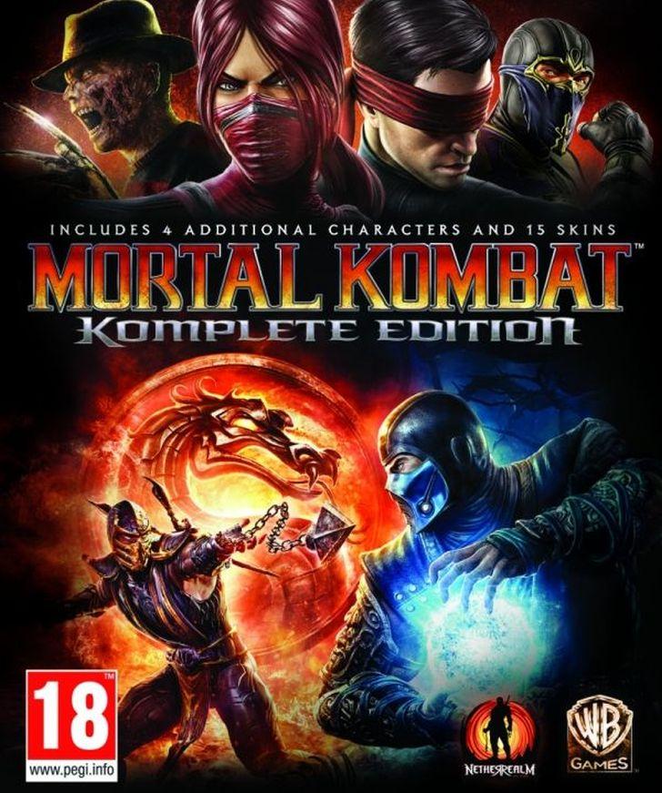 Продам Gift Mortal Kombat: Komplete Edition